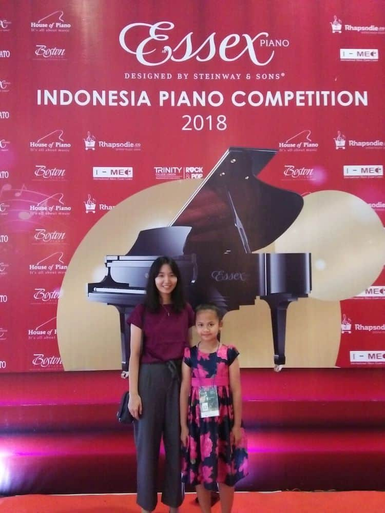 Menggapai Impian ABRSM Distinction Dan No 1 Piano Kompetisi – Kafka Aurelia Mourin