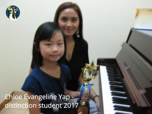 chloe evangeline - abrsm exam distinction