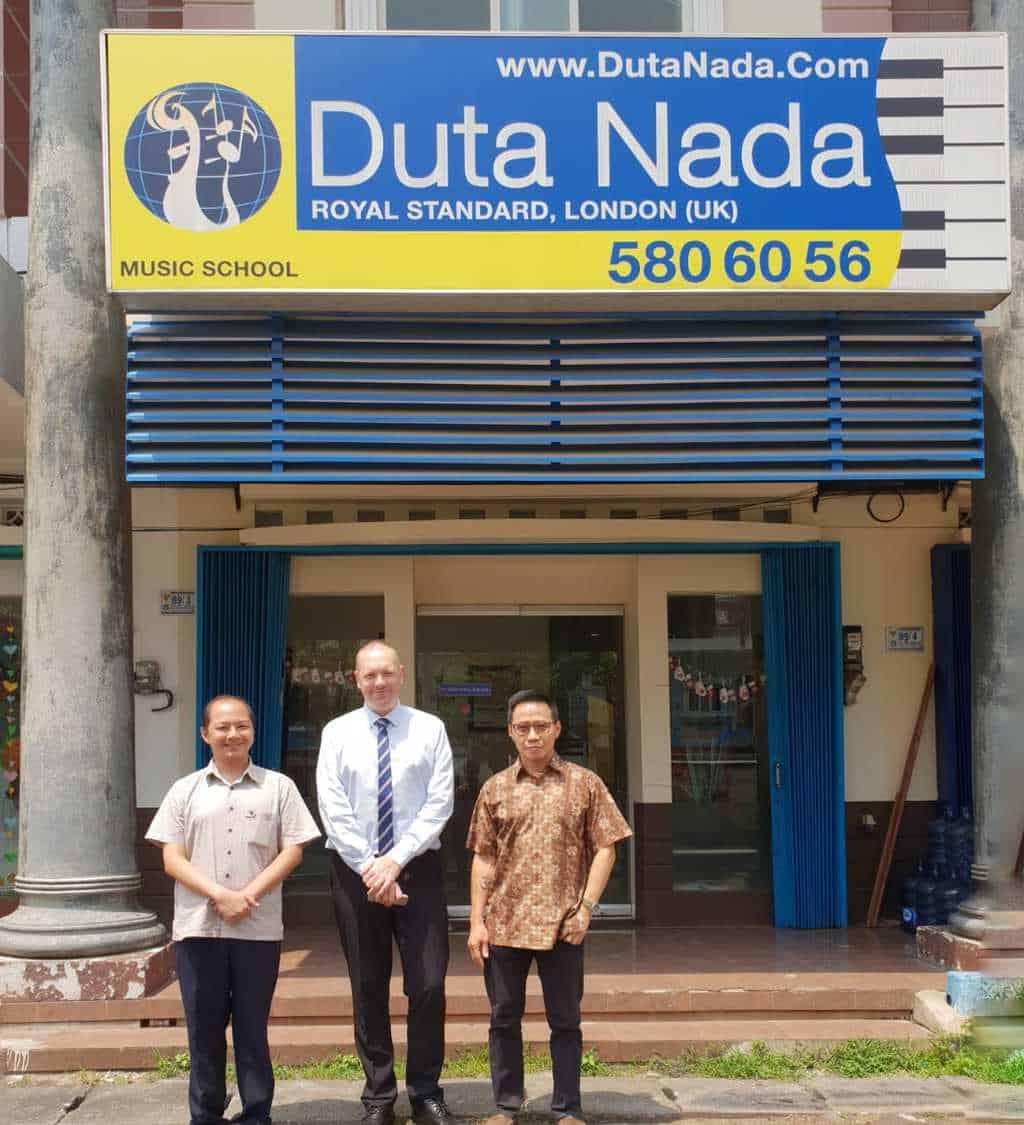 Kunjungan Steven Dixon – ABRSM Regional Development Executive (SEA) Ke Sekolah Musik Dutanada